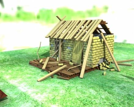 Как снять с кадастрового учёта разрушенный дом?